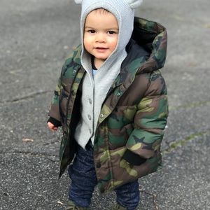 Camouflage Zara Coat for Toddler